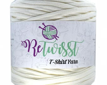Retwisst T-shirt Fabric Yarn 120M Cotton Yarn Knitting Crochet Crocheting TY321