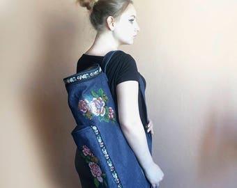 Womens yoga gift Yoga mat bags Unique yoga gifts Yoga bags Yoga bag for women Gift for yoga mom Best yoga gift Yoga mat bag large