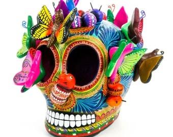 Dia De Los Muertos Butterflies & Insects Skull Day of the Dead Mexican Folk Art