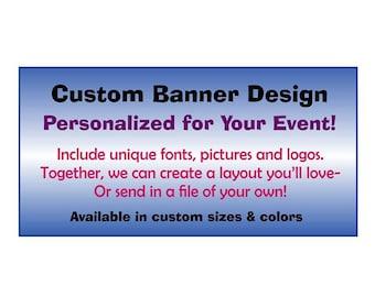 Custom Banner Design