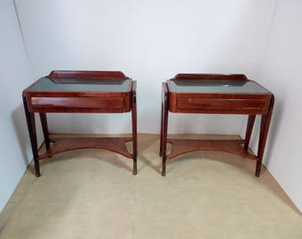 Couple of nightstands attributed to Dassi - Vintage 1950s