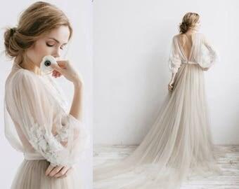 Boho wedding dress etsy bohemian wedding dress wedding dress long sleeve wedding dress boho wedding dress junglespirit Choice Image