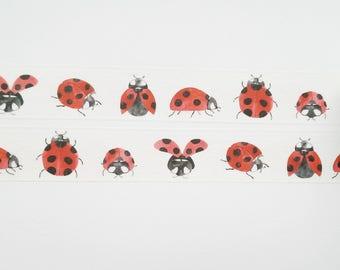 Design Washi tape Ladybug masking tape