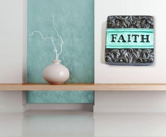 Faith Wall Decor Faith Decor Christian Wall Decor Faith