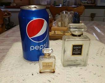 Chanel Perfume Bottle Glass Daubers on Both