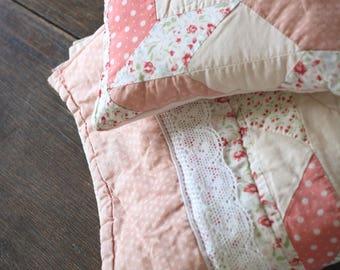 Set vintage quilt newborn