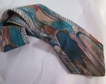Men's Silk Tie by The Beatles Apple Corp. Let It Be!