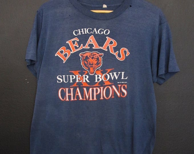 Chicago Bears Superbowl XX 1985 vintage Tshirt