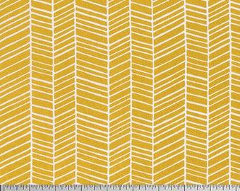 1/2 Yd True Colors Herringbone by Joel Dewberry for FreeSpirit Fabrics PWTC007.STRAW