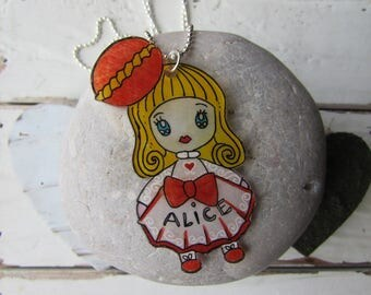 Personalized girl pendant