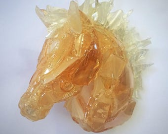 Palomino Glass Ornament