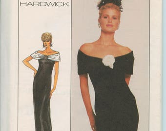 Simplicity Cathy Hardwick Misses Dress in 2 Lengths Pattern 8351