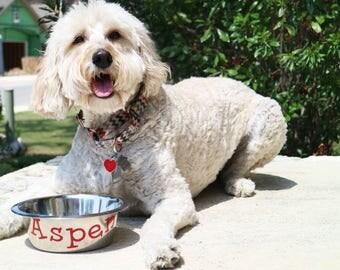 Customizable Dog Bowl   Dog Bowl   Custom Dog Bowl