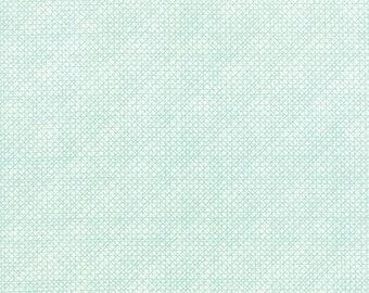 Moda SWEETNESS Quilt Fabric 1/2 Yard By Sandy Gervais - Snow/Sky 17853 32