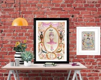 Pirouette - Art Print