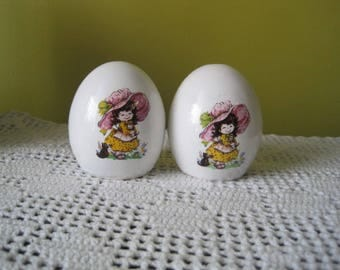 Vintage salt & pepper shakers / Vintage Salt cellar-pepperpot