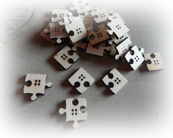 8 buttons wood puzzle 4 25 mm hole