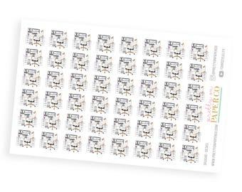 Glam Desks- Planner Stickers