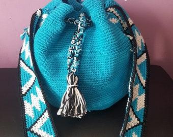 Backpack, shoulder bag ethnic bag
