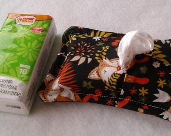 TISSUE POUCH - 4 x 6 inches / cover for Kleenex 4 x 6 inches