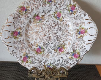 Cake Plate/Salisbury/Bone China/England