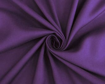 """Decorative Fabric, Handcrafted, Purple Fabric, Apparel Fabric, Dress Material, Sewing Fabric, 40"""" Inch Rayon Fabric By The Yard PZBR3N"""