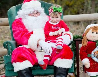 Matching Christmas Pajamas, Family Christmas Pajamas, Monogram Christmas Pajamas, Kids Christmas Pjs, Christmas Pajamas Family, Free Ship