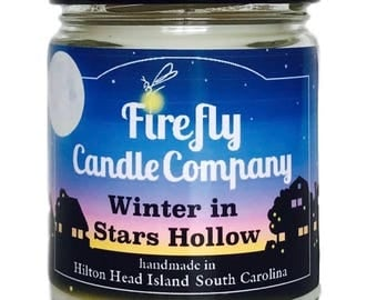 Winter in Stars Hollow Soy Candle- Gilmore Girls candle 8oz