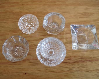 Lot of Five Salt Cellars - Item #1540