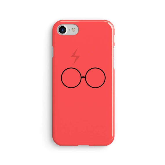 Harry P inspired red scar and glasses iPhone X case - iPhone 8 case - Samsung Galaxy S8 case - iPhone 7 case - Tough case 1P036