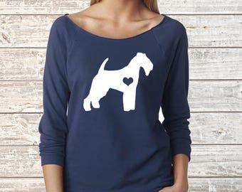 Welsh Terrier Next Level Long Sleeve Shirt