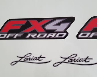 Ford Lariat Decal Set