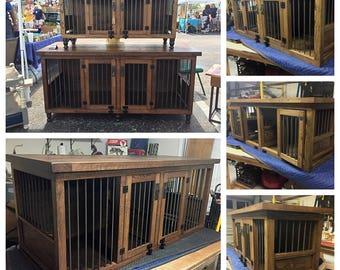 dog kennel stain finish dog furniture dog crate dog bed solid