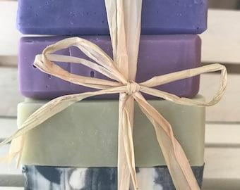 4 Bar Soap Offer! Natural Soap Bar Offer, Handmade Soap, Natural Soap, Palm Oil Free, Cruelty Free Soap, Vegan, Vegetarian, Shea Butter