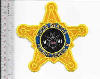 US Secret Service USSS National Counter Assault Team V & VI Agent Service Patch