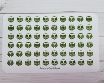 Portland Timbers Soccer Planner Stickers- Perfect For Any Planner- Erin Condren, Happy Planner, Filofax