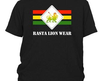 Rasta Lion Wear Original youth T-shirt RLW536