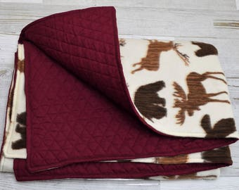 Quilted Fleece Baby Blanket