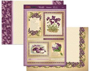Violet Topper Set