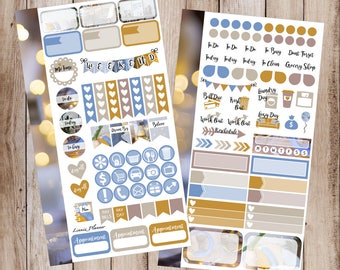 Everyday Magic PERSONAL Kit   Stickers for your Erin Condren, Happy Planner, Kikki K, Filofax and more