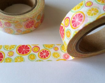 Summer Citrus Washi Tape