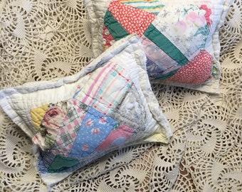 Tulip Quilt Posing Pillow Prop/ Newborn Posing Pillow/ Posing Pillow Prop