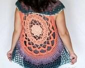 Mandala Vest Crochet PATT...