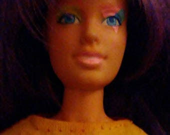 """Vintage 1980s Hasbro JEM and the Holograms """"CLASH"""" Misfits Doll!!!"""
