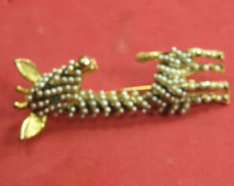 I-39 Vintage Brooch costume jewelry