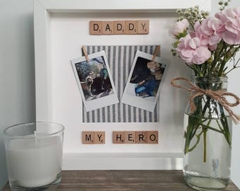Fathers Day Frame/Gifts For Dad/ Gifts For Him/ Dad Frame/Birthday Frame/New Dad Frame/Fathers Day Gift/ First Fathers Day/ New Dad Frame
