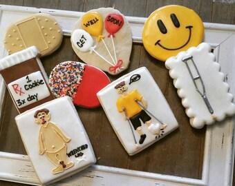 Get Well Cookies - One Dozen