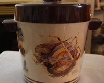 Vintage Thermo-Serv Insulated Ice Bucket (88085 Wildlife)