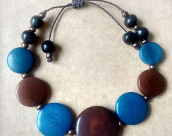 Tagua bracelets for women. Hand made