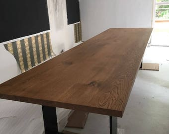 Roomify Dining Table Industrial Ludwig-Oak Solid